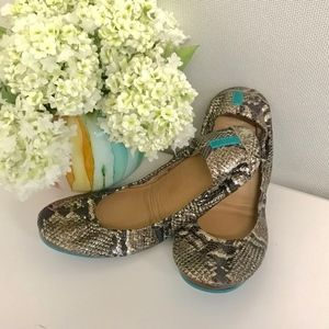 Copper Head Snake Tieks Size 9